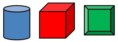 Excel円筒、立方体、額縁